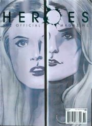 Heroes Official Magazine #6 (2008) Previews Exclusive PX Variant Titan Magazines